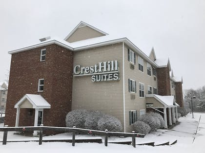 Hotel Entrance | CrestHill Suites SUNY University Albany
