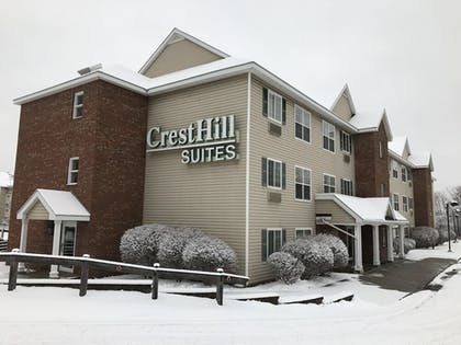 Hotel Front | CrestHill Suites SUNY University Albany