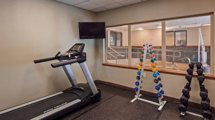 Fitness Facility | Best Western Northwest Lodge