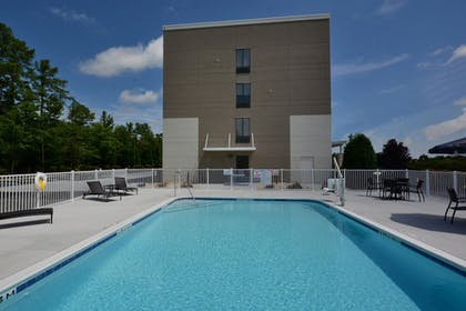 Pool | Holiday Inn Express Hotel and Suites Research Triangle Park
