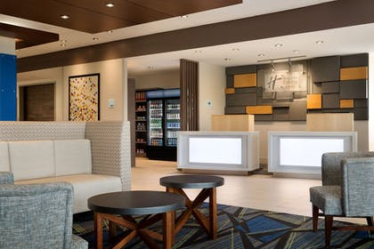 Lobby | Holiday Inn Express & Suites Locust Grove