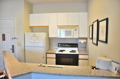 In-Room Kitchen | Cresthill Suites Syracuse