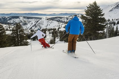 Skiing   The Village at Squaw Valley