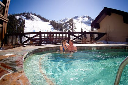 Outdoor Spa Tub   The Village at Squaw Valley