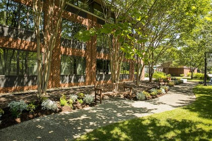 Terrace/Patio | Woodlands Hotel & Suites - A Colonial Williamsburg Hotel