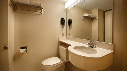 Bathroom | SureStay Plus Hotel by Best Western Houston Medical Center