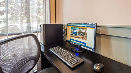 Business Center | SureStay Plus Hotel by Best Western Houston Medical Center