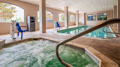 Indoor Pool | SureStay Plus Hotel by Best Western Houston Medical Center