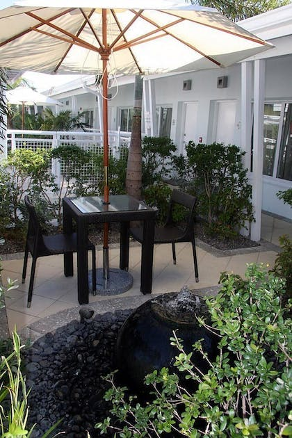 Terrace/Patio | Orchid Key Inn