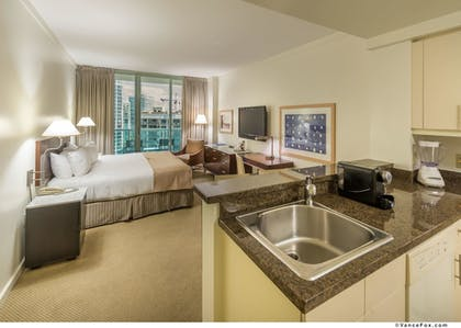 In-Room Kitchenette | Hotel Arya, BW Premier Collection