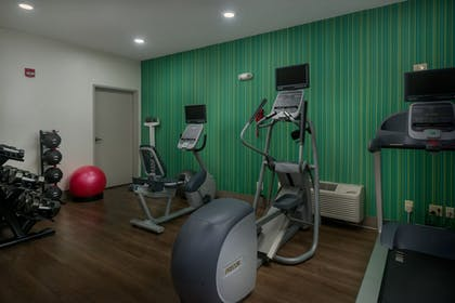 Fitness Facility | Holiday Inn Express & Suites Lawrence