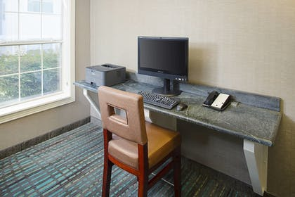 Business Center | Residence Inn By Marriott Dallas Park Central