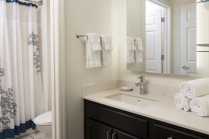 Bathroom | Residence Inn by Marriott Orlando at SeaWorld