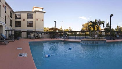 Outdoor Pool | Holiday Inn Express Hotel & Suites Clearwater North-Dunedin