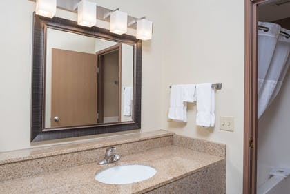 | 1 King Bed, Premier Suite, Non-Smoking | AmericInn by Wyndham Valley City - Conference Center
