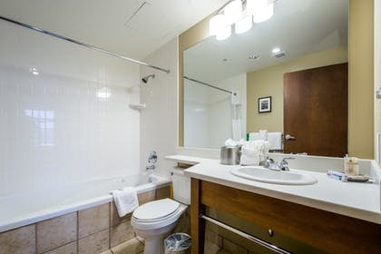 Bathroom | Sundial Lodge by All Seasons Resort Lodging