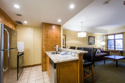 In-Room Kitchen | Sundial Lodge by All Seasons Resort Lodging