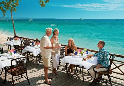 Outdoor Dining | Sandals Negril Beach Resort and Spa