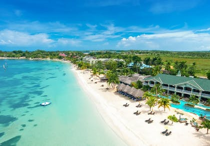 Aerial View | Sandals Negril Beach Resort and Spa