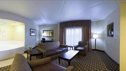 Living Area | Holiday Inn Express Hotel & Suites Columbia - Downtown