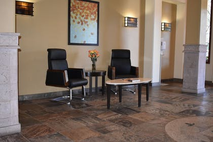 Lobby Sitting Area | Carlsbad Suites