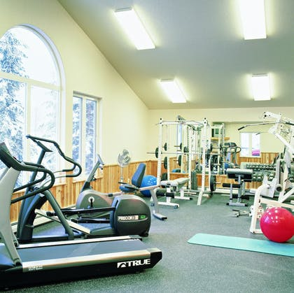 Fitness Facility | Kandahar Lodge at Whitefish Mountain Resort