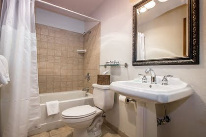 Bathroom | Kandahar Lodge at Whitefish Mountain Resort
