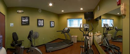 Fitness Facility   Holiday Inn Express Hotel & Suites Cadillac