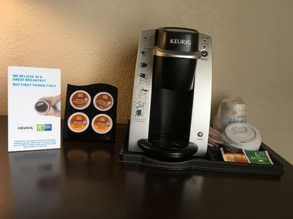 In-Room Coffee   Holiday Inn Express Hotel & Suites Cadillac
