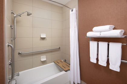 Bathroom | Holiday Inn Express Hotel & Suites Chambersburg
