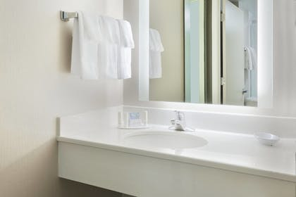 Bathroom | SpringHill Suites by Marriott Asheville