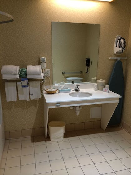 Bathroom Sink | Manchester Inn and Suites