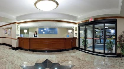 Reception | Holiday Inn Express Hotel & Suites Easton