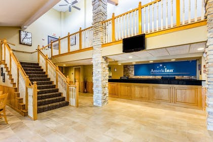 Lobby   AmericInn by Wyndham Hotel and Suites Long Lake