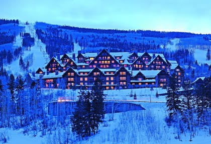 Hotel Front - Evening/Night | The Ritz-Carlton, Bachelor Gulch