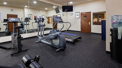 Fitness Facility | BEST WESTERN PLUS McKinney Inn & Suites
