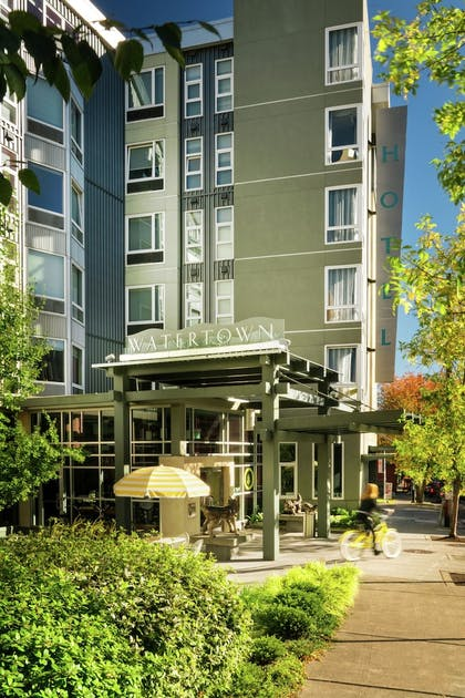 Hotel Front | Staypineapple, Watertown, University District Seattle