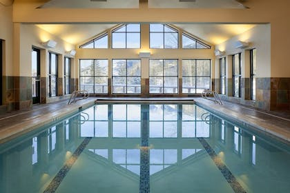 Indoor Pool   Teton Mountain Lodge and Spa - A Noble House Resort