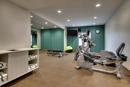 Fitness Facility | Holiday Inn Express & Suites - Interstate 380 at 33rd Avenue