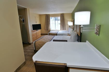 Guestroom | Extended Stay America - Raleigh-Research Triangle Park-Hwy55