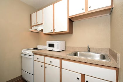 In-Room Kitchen | Extended Stay America - Des Moines - West Des Moines