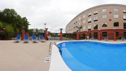 Outdoor Pool | Holiday Inn Express Hotel & Suites