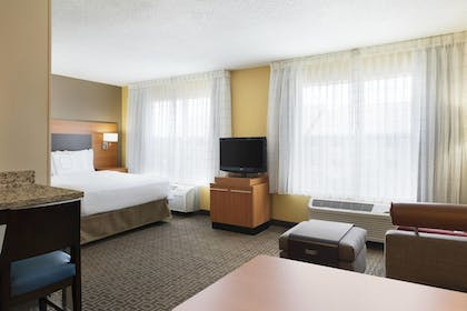| Studio, 1 King Bed with Sofa bed | TownePlace Suites Chicago Naperville