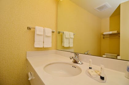 Bathroom | Fairfield Inn Suites by Marriott Cherokee