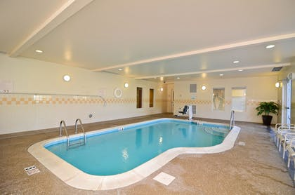 Indoor Pool | Fairfield Inn Suites by Marriott Cherokee