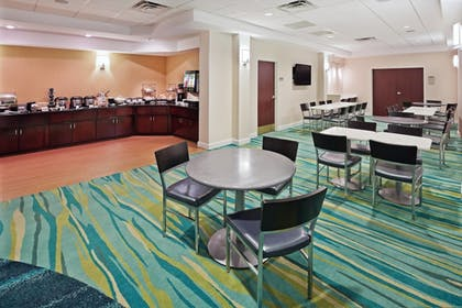 Breakfast Area | Springhill Suites By Marriott Austin North Parmer Lane