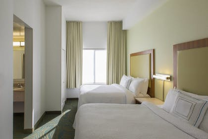 Guestroom | SpringHill Suites by Marriott Charlotte Airport