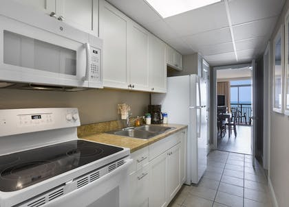 In-Room Kitchen | The Caravelle Resort