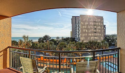Balcony | The Caravelle Resort