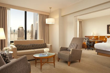 | 1 King Bed 1 Bedroom Parlor Suite | Millennium Hilton New York Downtown